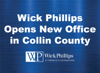 See Wick Phillips Opens New Office in Collin County